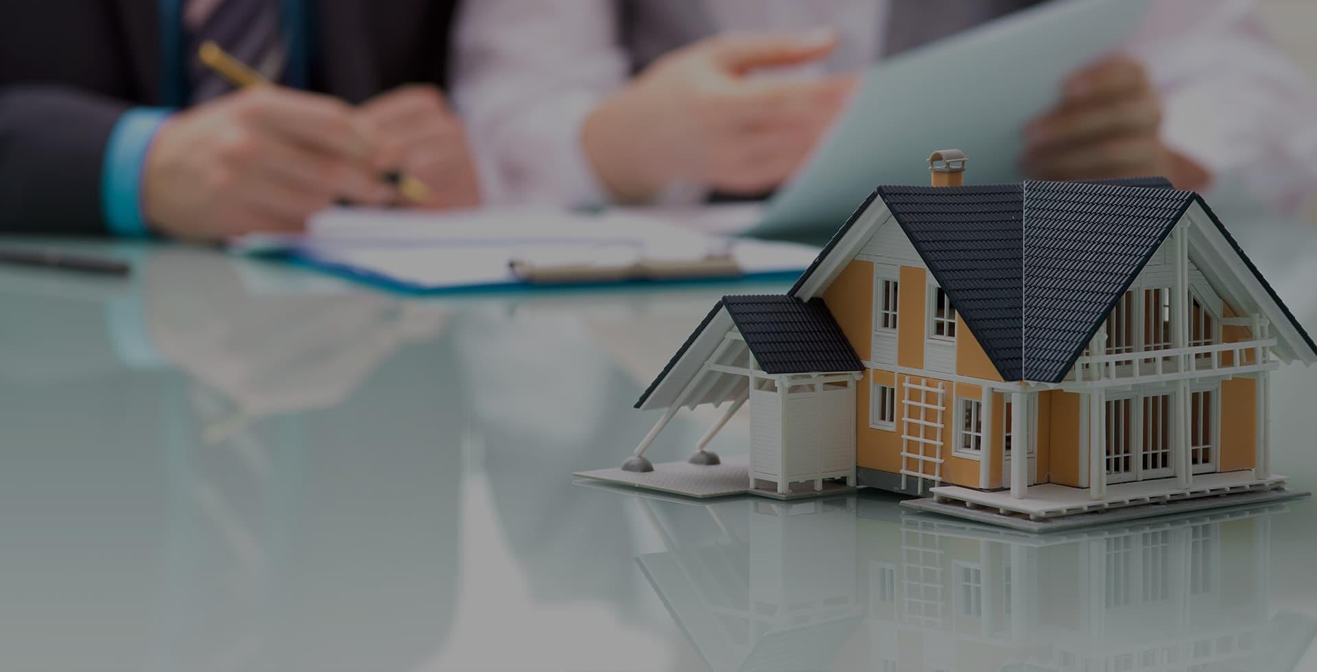 etude de dossier pour assurer une maison